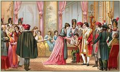 The Days of the Directoire. Costumes under the French Revolution.