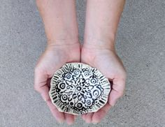 Small organic bowl designed to look broken with a story to tell. http://artistholiday.blogspot.com