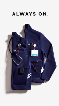 Nursing Wear, Nursing Clothes, Paramedic Uniform, Stylish Scrubs, Nurse Aesthetic, Scrubs Uniform, Nursing Supplies, Vegan Clothing, Travel Wardrobe