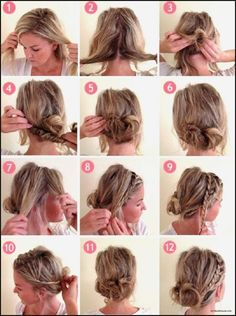 Diy Ponytail Hairstyles for Medium Long Hair  Hair Candy
