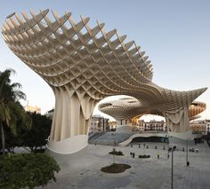 The Metropol Parasol is an outstanding architectural piece designed by the Berlin based J.Mayer H. Architects.