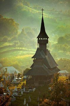 Sec. XVII wooden church,Maramures Romania, UNESCO Heritage Site, romaniasfriends.com/sejours