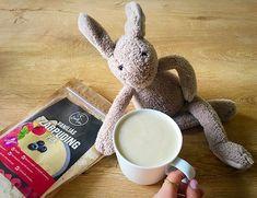 Krémital zabpudingból Dairy Free, Gluten Free, Vanilla Flavoring, Vegan, Stevia, Recipe Share, Favorite Recipes, Snacks, Almond Milk