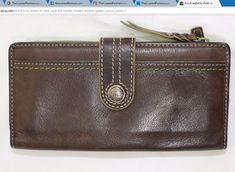 Fossil wallet bifold card bill holder brown leather green canvas print ~ http://stores.ebay.com/thecurrentfashion/Bags-/_i.html?_fsub=10888362012 , http://stores.ebay.com/thecurrentfashion?_dmd=2&_nkw=Fossil , http://stores.ebay.com/thecurrentfashion | #TheCurrentFashion #eBay #eBayFashion #style #fashion #Fossil #Fossilwallet #Fossilwallets #FossilStyle #leatherwallet #wallet #womanswallet #womenswallet #bifold #bifolds #leatherwallets #wallets #womanswallets #womenswallets #womenfashion…