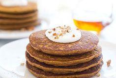 Gluten-free Pumpkin Pie Pancakes | Making Thyme for Health