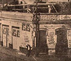 Redação do Jornal O Estado de São Paulo de 1884 a 1906 na Rua Imperatriz atual Quinze de Novembro