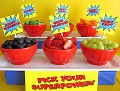 Girls Superhero Party!