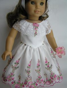 1860's Inspiration dress from Mary Todd by nancysdollcloset yet lovely for a contemporary party dress....