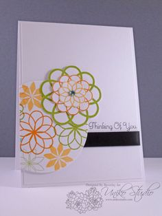 Uniko Studio's Time clear stamp set Wink Of Stella, Hibiscus Flowers, Clear Stamps, Your Cards, Your Design, Thinking Of You, Birthday Cards, Card Making, Tags