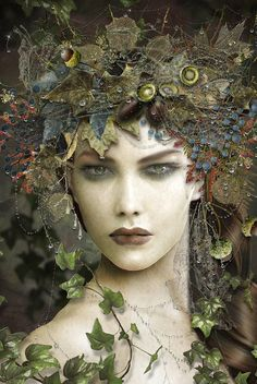 Way too much for Bohemia, but reminds me of it. Image detail for -Belle nymphe, Maxine Gadd - Foto Fantasy, Fantasy Kunst, Fantasy Art, Steampunk Kunst, Midsummer Nights Dream, Fairy Art, Green Man, Gods And Goddesses, Medium Art