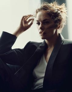 Ruth Wilson for The Edit photographed by Boo George
