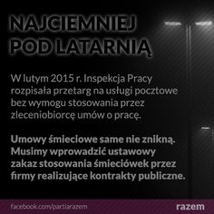 Dlaczego prawo pracy to takie coś, o czym wszyscy w Polsce słyszeli, ale nikt nigdy nie widział? Bo instytucje, które stoją na jego straży, wymagają gruntownej naprawy. http://www.partiarazem.pl