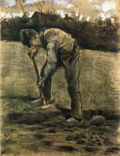A Digger - Vincent van Gogh