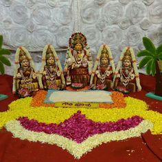 Backdrop Decorations, Festival Decorations, Flower Decorations, Wedding Decorations, Wedding Ideas, Pooja Room Design, Diwali Diy, Marriage Decoration, Flower Rangoli