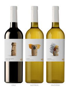 WINES OF THE WORLD Creative Packaging Design Inspiration