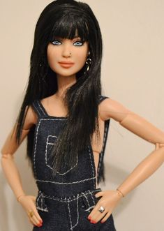 Jolie- Formally the Asian Made to Move Barbie OOAK recreated by DollAnatomy | by Gypsy X