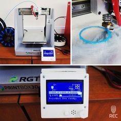 Полностью собранный Printbox с небольшими изменениями внутри и снаружи. Теперь Printbox способен печатать автономно с SD карты.  Fully assembled Printbox with a few changes inside and out. Now Printbox can print independently with SD card.  #rec3d #3D #3dprinting #3dprint #3dprinter #3dprinted #3dprinters #3dпечать #3dp #3dprints #3dпринтер #repair #recfix #PrintBox #repairs #display #computer #arduino #rams #lcd by rec3dcompany