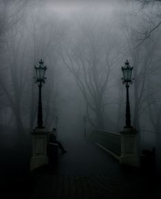 """""""A foggy day in London Town"""" (I don't know if it's actually London... but that would be cool!)"""