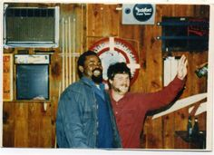 """Alfred Pierre and Dale """"Murph"""" Murphy - Crewmembers of the Andrea Gail fishing boat that was lost at sea as in the book and movie """"The Perfect Storm.""""  Alfred Pierre was played by Allen Payne and Murph was played by John C. Reilly."""
