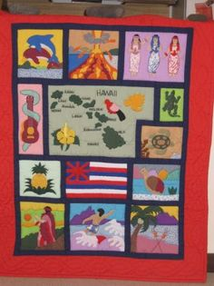 Hawaii Quilt