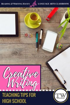 Creative writing can be taught effectively in high school. In this post, read our interview with Language Arts Classroom, in which she shares her best advice for teaching creative writing in high school. #creativewriting #highschool