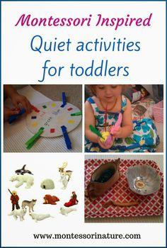 Montessori Nature: Montessori Inspired Quiet Activities for Toddlers.