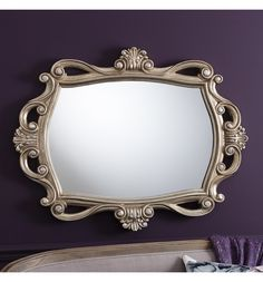 Holford wall mirror £175.00 french ornate shabby chic mirrors www.uniquechicfurniture.co.uk