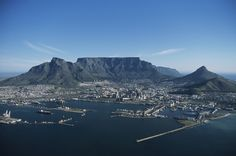 World's New 7 Wonders of Nature: Capetown, aerial view, South Africa. Photo by Tom Brakefield/Thinkstock New Seven Wonders, Wonders Of The World, Table Mountain Cape Town, Cape Town South Africa, Beautiful World, Stunningly Beautiful, Beautiful Places, Natural Wonders, Aerial View