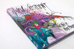 """Alex Pardee """"Awful/Resilient"""" Book"""