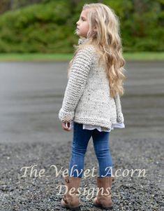 Brink Sweater Knitting pattern by The Velvet Acorn Sweater Knitting Patterns, Knit Patterns, Knitting For Kids, Baby Knitting, Heidi May, Velvet Acorn, Dress Gloves, Baby Kind, Kind Mode