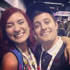 Anna Brisbin and Nick Pitera - VidCon 2016