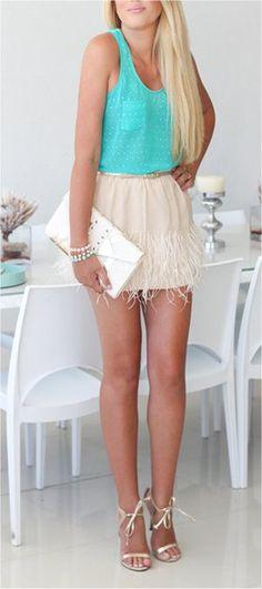 I'm feelin' the skirt