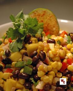 Black Bean and Corn Salad with Mango | What's Cooking