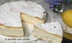 La torta millefoglie al limone, un dolce gustoso e leggero di 230 calorie! Dolce, Dairy, Cheese, Food, Diet, Meals, Yemek, Eten