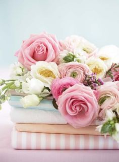 Flowers, flowers, flowers.