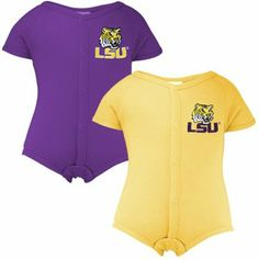 LSU Tigers Infant Two Piece Outfit Set
