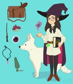 Apparently it's witchsona week? by unicornism