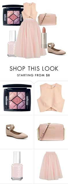 """""""Ballet style"""" by tcupcake-4 ❤ liked on Polyvore featuring Christian Dior, Finders Keepers, Audrey Brooke, MICHAEL Michael Kors, Essie, Ted Baker and Ilia"""
