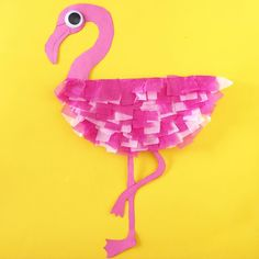 "45 Likes, 11 Comments - Elisa Allen (@makefilmplay) on Instagram: ""Paper Plate Flamingo #kidsactivities #kidscrafts #schoolholidays"""