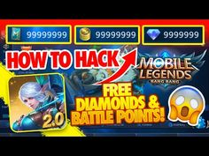 Mobile Legends Hack - How to Hack Mobile Legends Free Diamonds & Battle Points - Android & iOS No doubt mobile legends hacks are the best thing that you can . Mobile Legend Wallpaper, Hero Wallpaper, Android Mobile Games, Free Android Games, Wireframe, Miya Mobile Legends, Bristol, Moba Legends, Alucard Mobile Legends