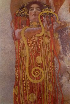 Klimt hygeia - Gustav Klimt - Wikipedia