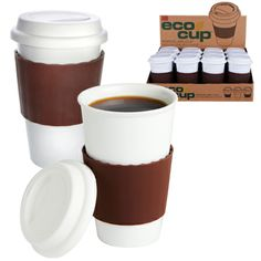 We love these ceramic #coffee cups—they look and feel just like your favorite #Starbucks cup, but they're eco-friendly!