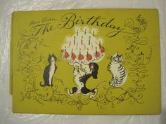 The Birthday Party by Hans Fischer: First 1st Edition, Hard Cover Picture Book