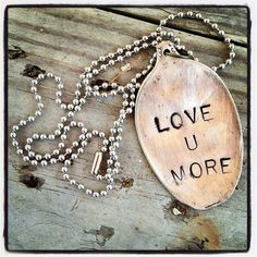 Love you more! I need this! Me am Eric always say this to each other!!