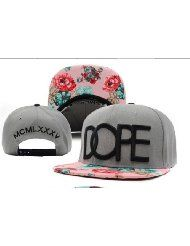 low priced cffc3 036d1 Dope Floral Snapback Hats Classic Men  amp  Women s Designer Flower Snapback  Caps Caps Hats,