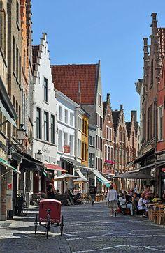 Historic Centre of Brugge, Belgium. UNESCO World Heritage area.