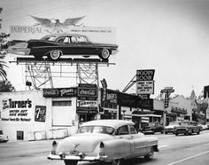 Sunst Strip during the 1950s. The Melody Room went on to become, Filthy McNastys, The Central and now the infamous Viper Room.