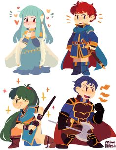 mimiblargh: since i posted eliwood and ninian as exemples why not post lyn and hector too fe7 is consuming my life