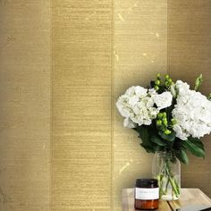 125030 Gold Stripe Metallic Wallpaper
