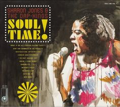Sharon Jones and The Dap-Kings - Soul Time (CD) DAP024 Daptone Records
